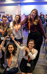Student team wins $10,000 at health hackathon